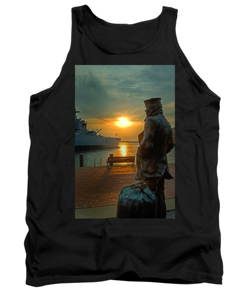 The Lone Sailor Tank Top