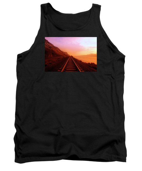 The Long Walk To No Where  Tank Top by Jeff Swan