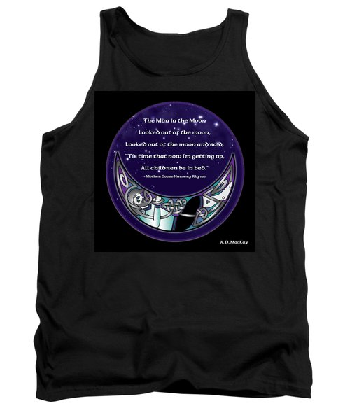 The Man In The Moon Tank Top