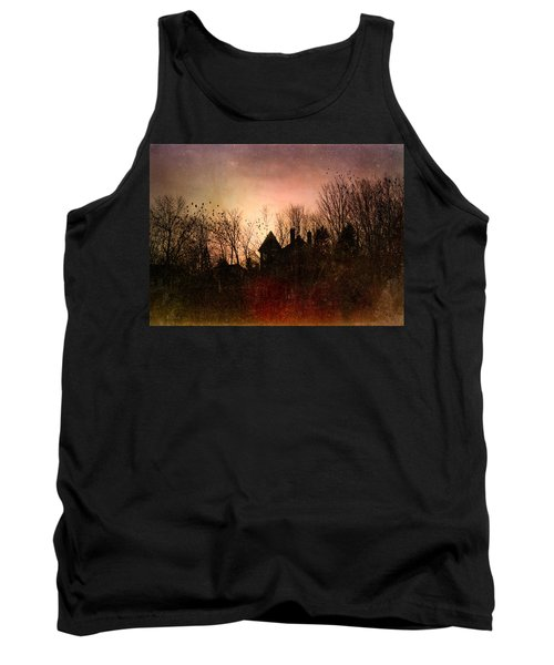The Mansion Is Warm At The Top Of The Hill Tank Top