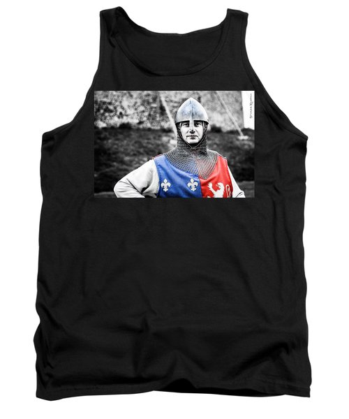 Tank Top featuring the photograph The Medieval Warrior by Stwayne Keubrick