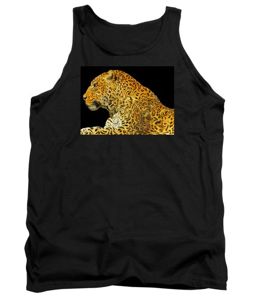 The Mighty Panthera Pardus Tank Top by Emmy Marie Vickers