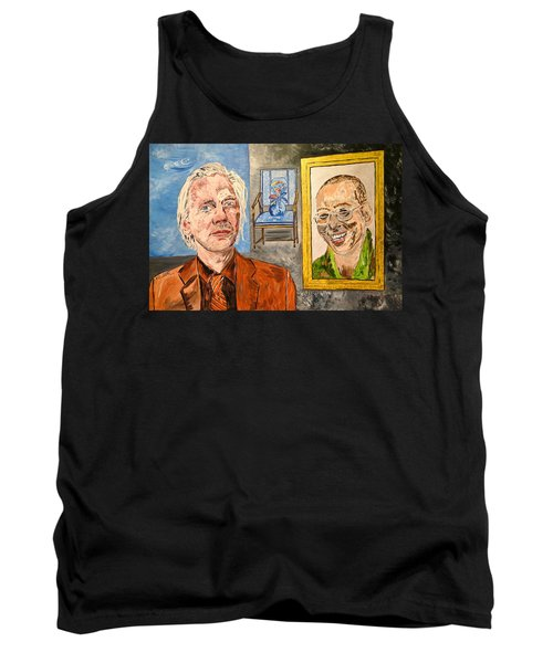 The Mirrored Truth Tank Top by Valerie Ornstein