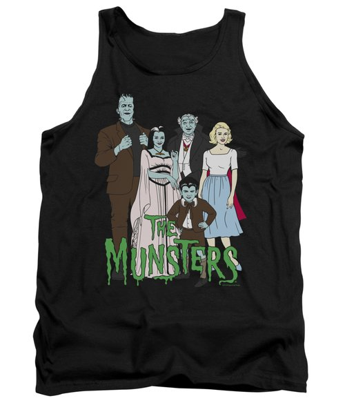 The Munsters - The Family Tank Top