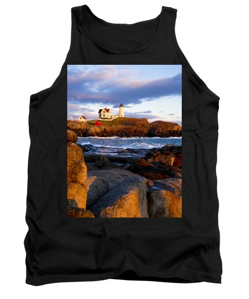 The Nubble Lighthouse Tank Top