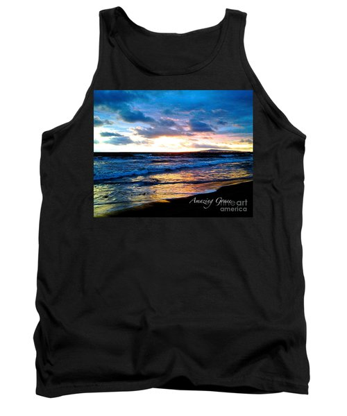 The Ocean Flows With Amazing Grace Tank Top