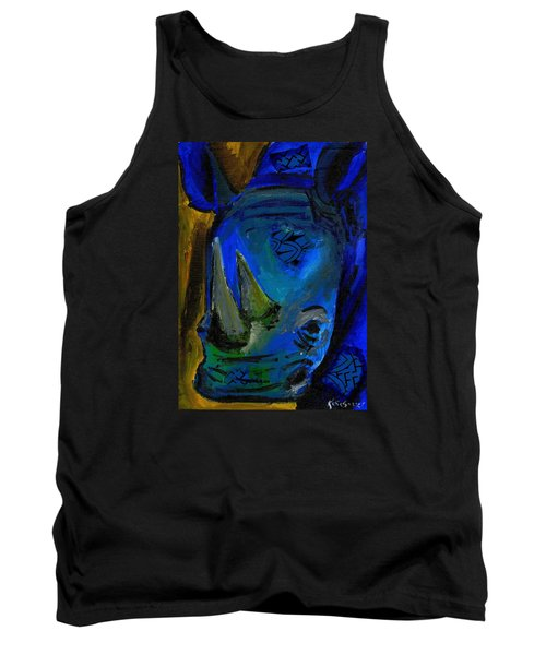 The Old Blue Rhino Tank Top