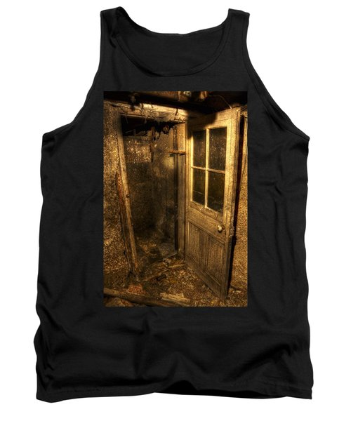 The Old Cellar Door Tank Top by Dan Stone