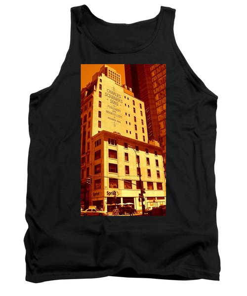 The Old Good Days In Manhattan Tank Top
