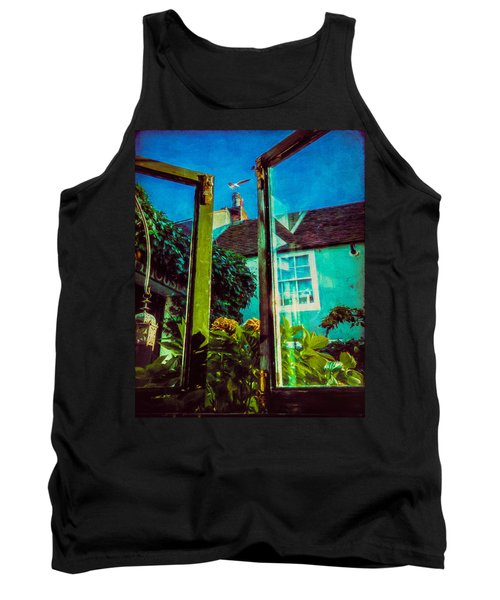 Tank Top featuring the photograph The Open Window by Chris Lord