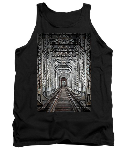 Tank Top featuring the photograph The Other Side  by Barbara Chichester