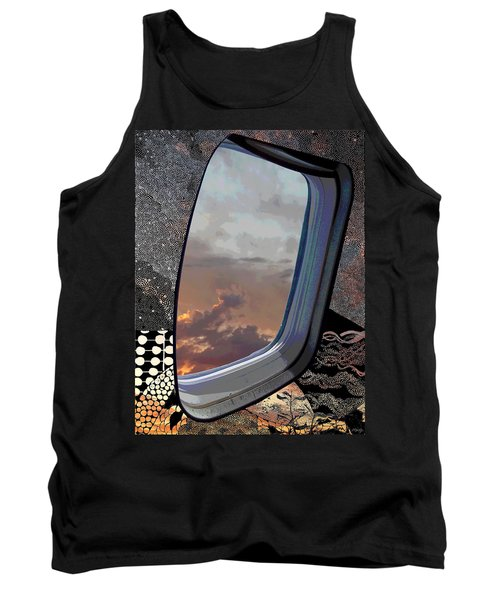 Tank Top featuring the digital art The Other Side Of Natural by Glenn McCarthy Art and Photography