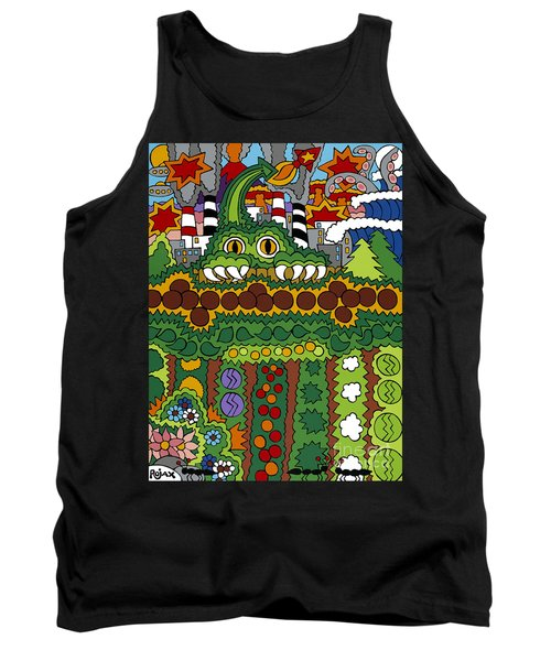 The Other Side Of The Garden  Tank Top