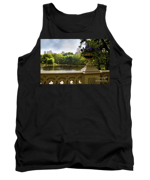 The Park On A Sunday Afternoon Tank Top by Madeline Ellis