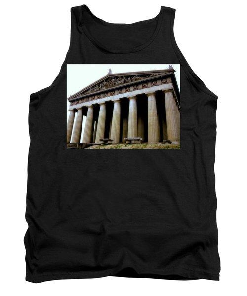 The Parthenon Nashville Tn Tank Top by Jodie Marie Anne Richardson Traugott          aka jm-ART