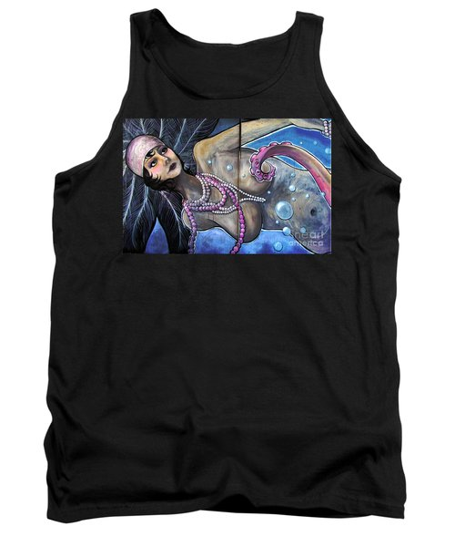 The Pearl Mermaid Tank Top by Colleen Kammerer
