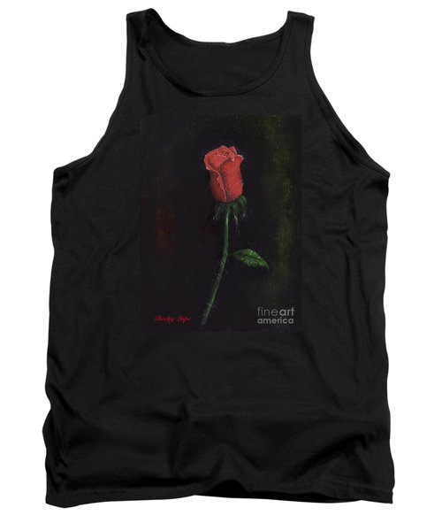 The Perfect Rose Tank Top by Becky Lupe