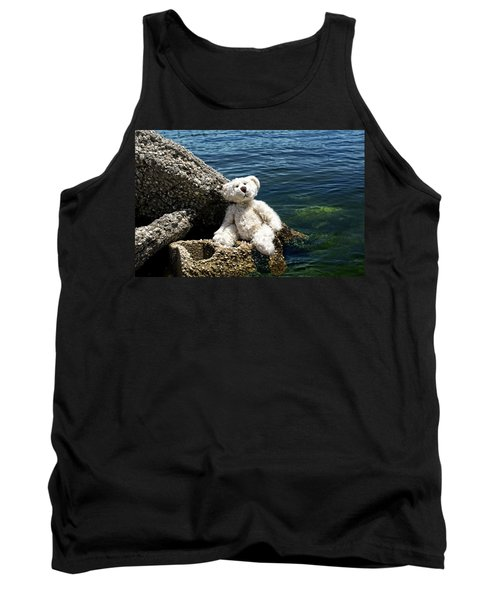 The Philosopher - Teddy Bear Art By William Patrick And Sharon Cummings Tank Top