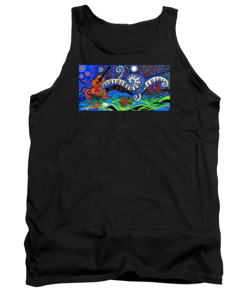 The Power Of Music Tank Top by Genevieve Esson