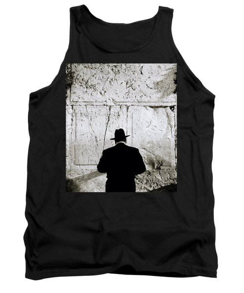 Inspirational Prayer Tank Top by Shaun Higson