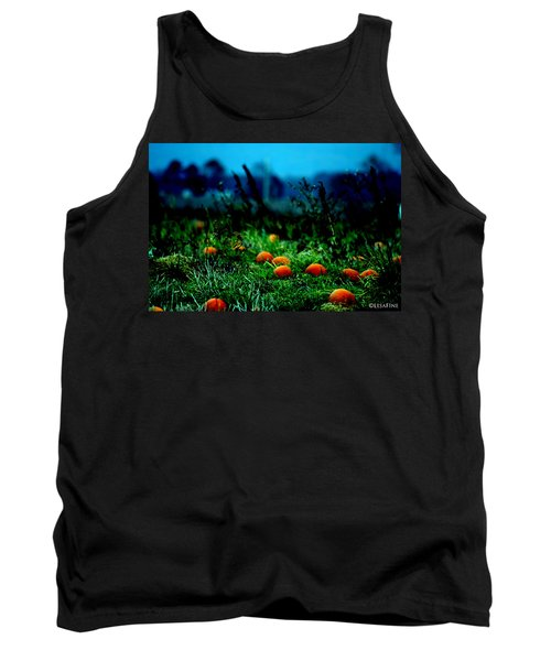 Tank Top featuring the photograph The Pumpkin Patch by Lesa Fine