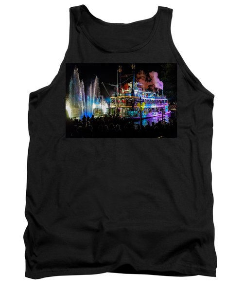 The Mark Twain Disneyland Steamboat  Tank Top