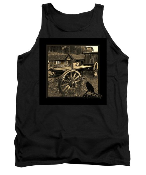 The Raven Flies Straight Tank Top