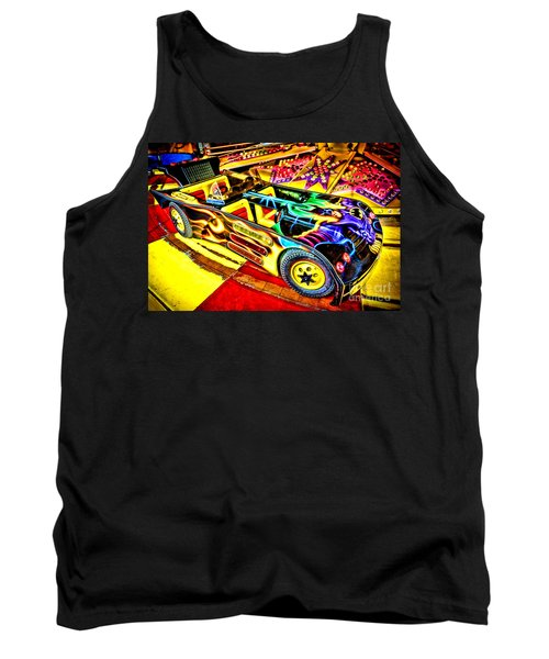 Tank Top featuring the photograph The Real Batmobile by Olivier Le Queinec