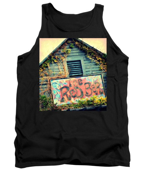 The Red Bar Tank Top by Toni Abdnour
