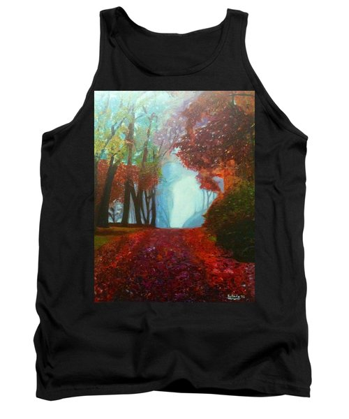 The Red Cathedral - A Journey Of Peace And Serenity Tank Top by Belinda Low