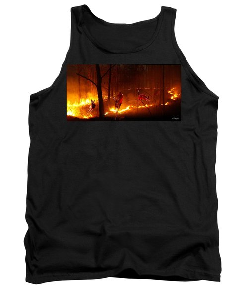 The Ring Of Fire Tank Top by Bill Stephens