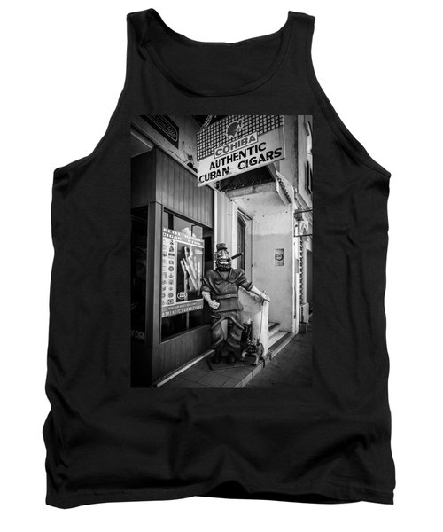 The Sidewalk Humidor  Tank Top by Melinda Ledsome