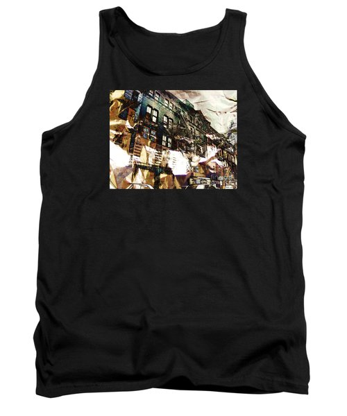 The Silver Factory / 231 East 47th Street Tank Top by Elizabeth McTaggart