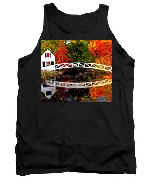 The Somesville Bridge Tank Top