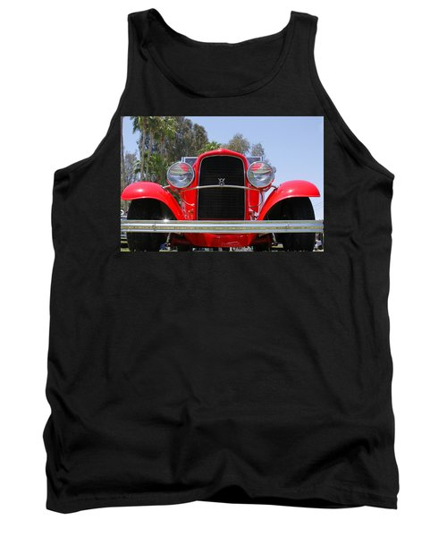 Tank Top featuring the photograph The Stare Of A V8 by Shoal Hollingsworth
