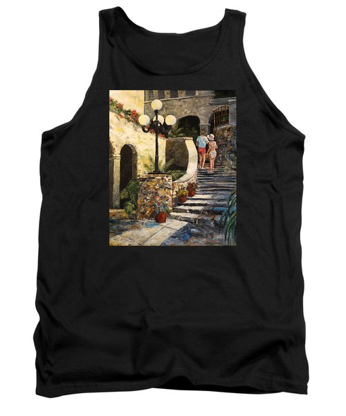 The Steps Tank Top by Alan Lakin
