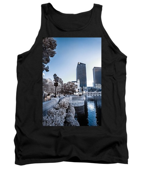 The Strip In Infrared Tank Top