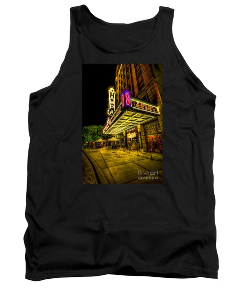 The Tampa Theater Tank Top by Marvin Spates