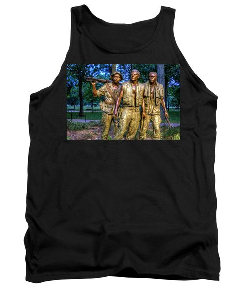 The Three Soldiers Facing The Wall Tank Top