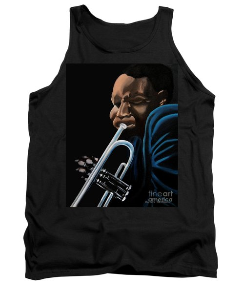 Tank Top featuring the painting The Trumpeter by Barbara McMahon