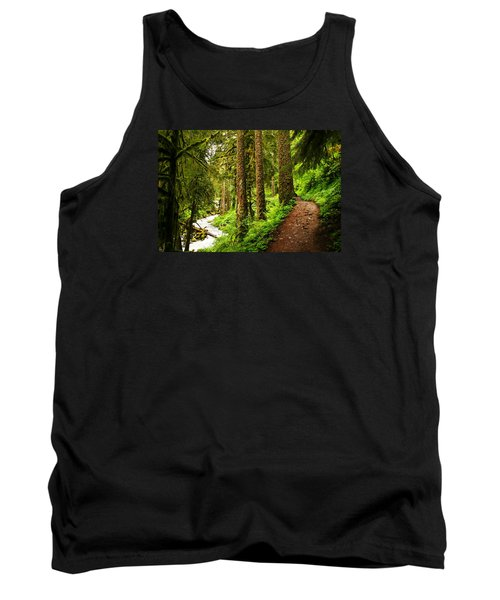 The Twisting Path Winding Through Paradise  Tank Top by Jeff Swan