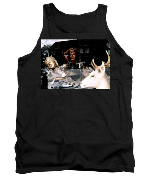 Tank Top featuring the photograph A Surreal View by Michael Hoard