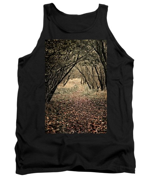 Tank Top featuring the photograph The Walk by Meirion Matthias