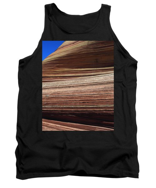 Tank Top featuring the photograph 'the Wave' North Coyote Buttes 06 by Jeff Brunton