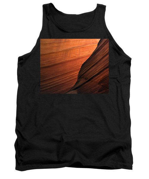 Tank Top featuring the photograph 'the Wave' North Coyote Buttes 47 by Jeff Brunton