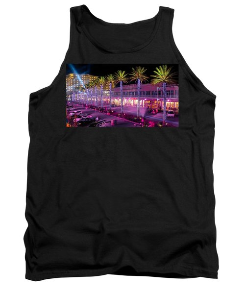 The Wharf @ Orange Beach Alabama Tank Top by Rob Sellers
