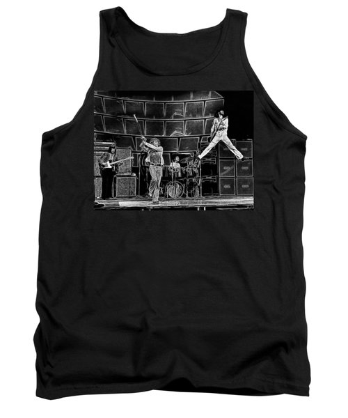 The Who - A Pencil Study - Designed By Doc Braham Tank Top