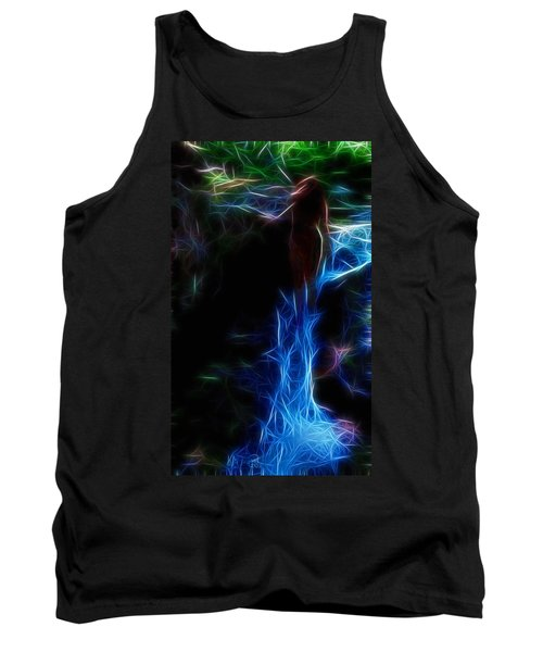 The Woods Are Lovely Dark And Deep Tank Top