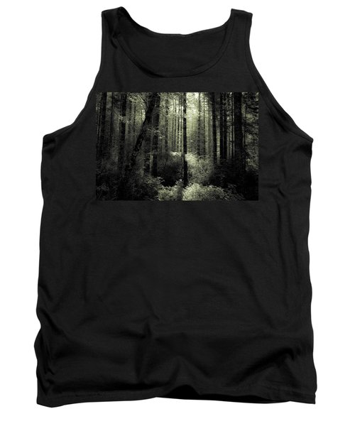 Tank Top featuring the photograph The Woods by Katie Wing Vigil