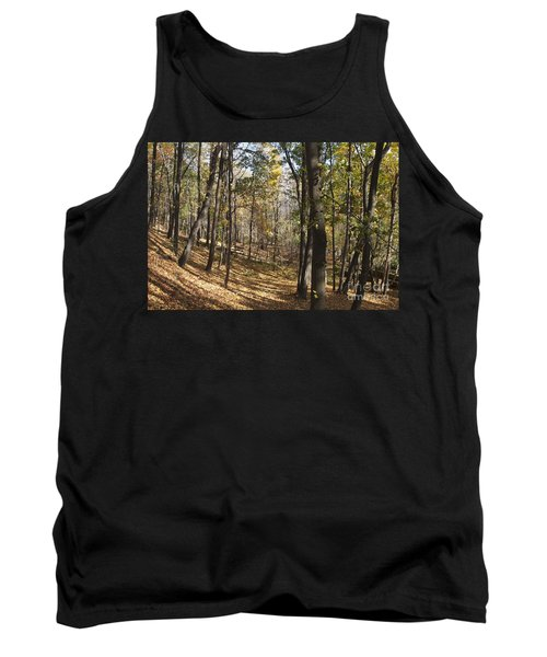 Tank Top featuring the photograph The Woods by William Norton